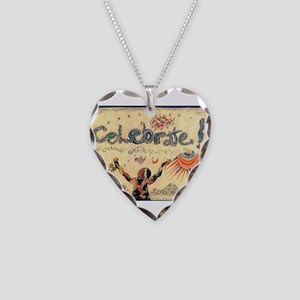 Celebrate! Necklace Heart Charm