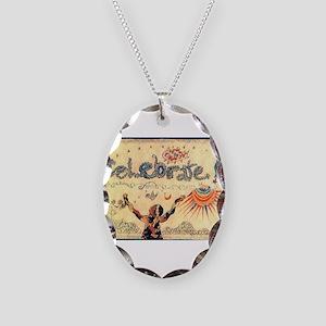 Celebrate! Necklace Oval Charm