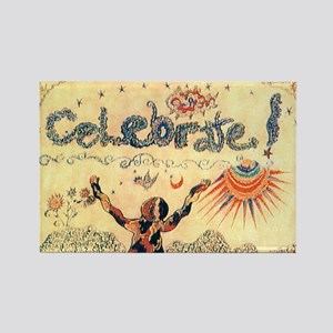 Celebrate! Rectangle Magnet