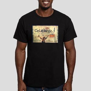 Celebrate! Men's Fitted T-Shirt (dark)