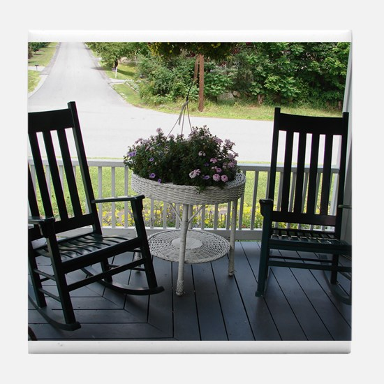 ROCKING CHAIRS™ Tile Coaster