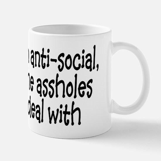 Anit-Social Mug