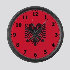 Albania Large Wall Clock
