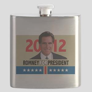 Mitt Romney 2012 Flask