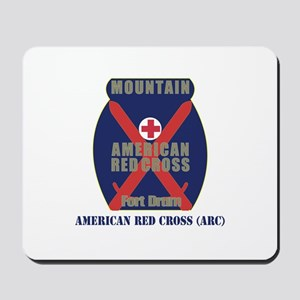 American Red Cross (ARC) with Text Mousepad