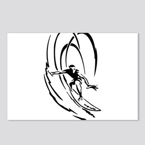 Cool Surfer Art Postcards (Package of 8)