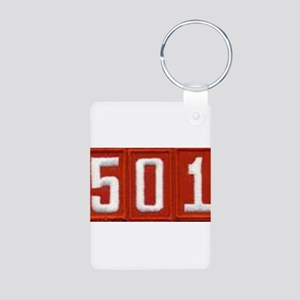 Pack 501 Patch Aluminum Photo Keychain