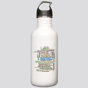 Proud History Teacher Stainless Water Bottle 1.0L