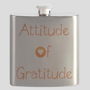 Attitude of Gratitude Flask