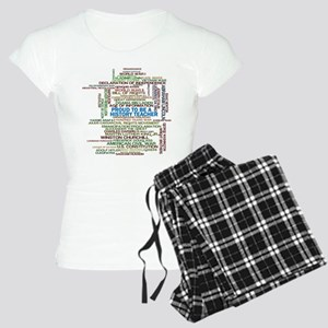 Proud History Teacher Women's Light Pajamas