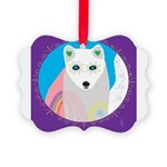 whitefox Picture Ornament