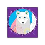 whitefox Square Sticker 3