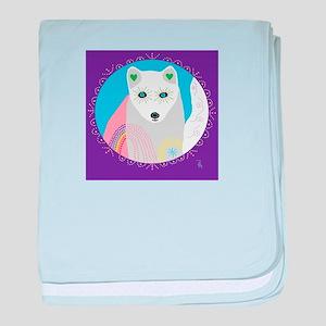 whitefox baby blanket