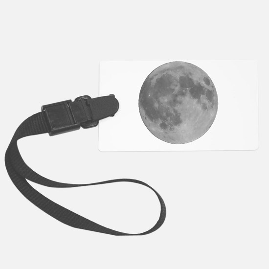 Full Moon Luggage Tag