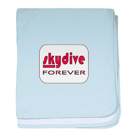 Skydive Forever baby blanket