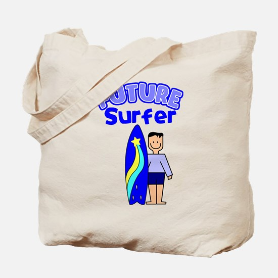 Future Surfer Tote Bag
