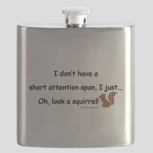Attention Span Squirrel Flask
