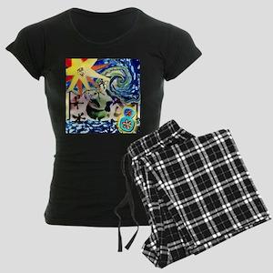 Sun Ocho Women's Dark Pajamas