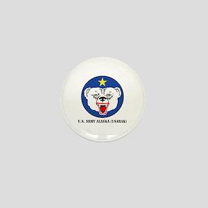 U.S. Army Alaska (USARAK) with Text Mini Button