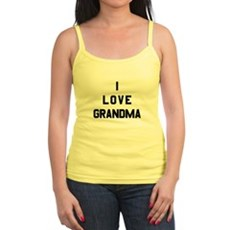 I Love Grandma Jr. Spaghetti Tank