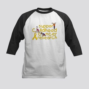 Support Childhood Cancer Research Kids Baseball Je