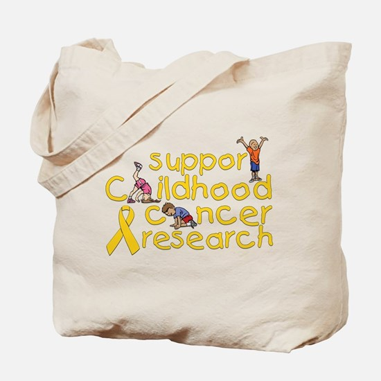 Support Childhood Cancer Research Tote Bag
