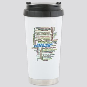 Proud English Teacher Stainless Steel Travel Mug