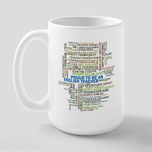 Proud English Teacher Large Mug