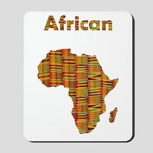African Kente Mousepad