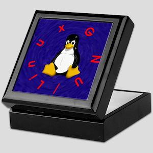 Tux the Penguin Keepsake Box