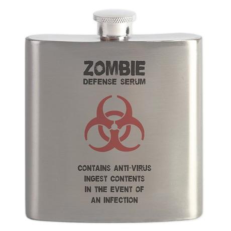 Zombie Defense Serum Flask