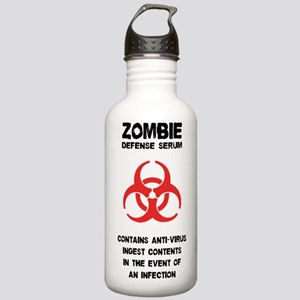 Zombie Defense Serum Stainless Water Bottle 1.0L