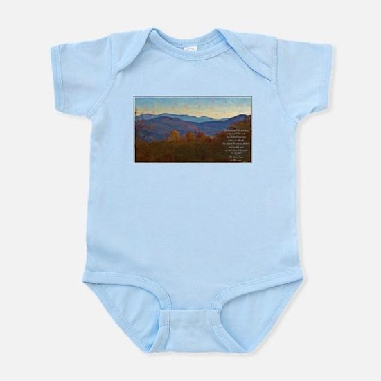Amos 4:13 Infant Bodysuit