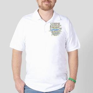 Proud English Teacher Golf Shirt