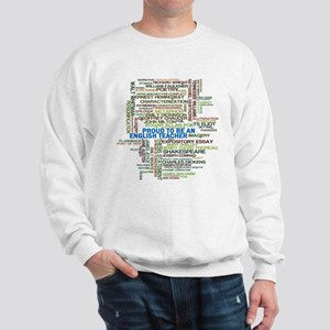 Proud English Teacher Sweatshirt