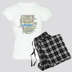 Proud English Teacher Women's Light Pajamas