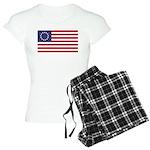 Betsy Ross Flag Women's Light Pajamas