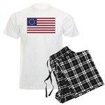Betsy Ross Flag Men's Light Pajamas
