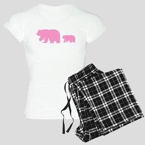 Bear Migration Icon (Pink) Women's Light Pajamas