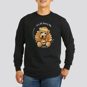 Cocker Spaniel IAAM Long Sleeve Dark T-Shirt