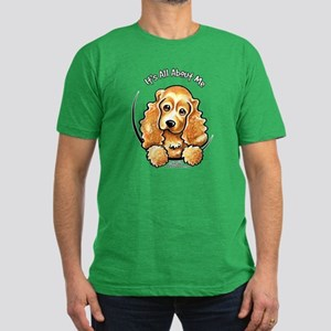 Cocker Spaniel IAAM Men's Fitted T-Shirt (dark)