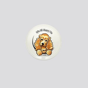 Cocker Spaniel IAAM Mini Button