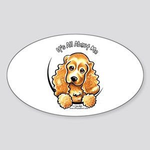 Cocker Spaniel IAAM Sticker (Oval)