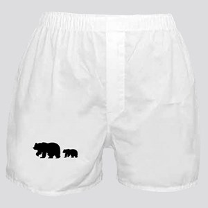 Bear Migration Icon (Blk) Boxer Shorts