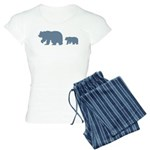 Bear Migration Icon (LB) Women's Light Pajamas