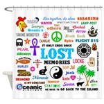 LOST Memories Shower Curtain