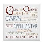 Gallia (ancient colors) Tile Coaster