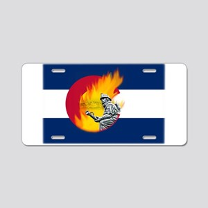 Black Forest Fire, Colorado Springs Aluminum Licen