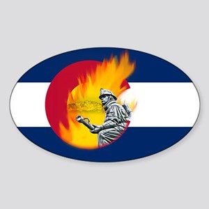Black Forest Fire, Colorado Springs Sticker (Oval)