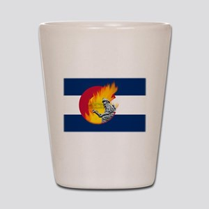 Black Forest Fire, Colorado Springs Shot Glass